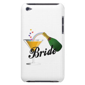 Brides Champagne Toast iPod Touch Case-Mate Case