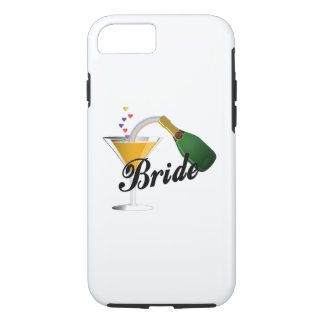 Brides Champagne Toast iPhone 8/7 Case