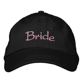 Bride's Classy Embroidered Baseball Caps