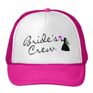 Brides Crew (Bride Blk) Trucker Hat