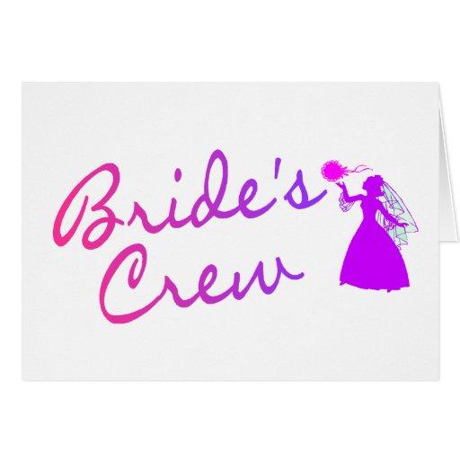 Brides Crew (Bride) Card
