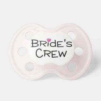 Brides Crew Pacifiers