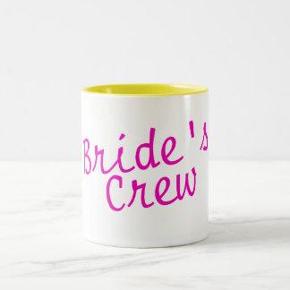 Brides Crew Pink Mugs
