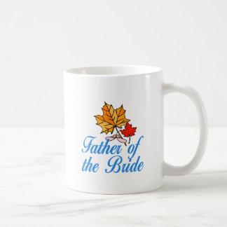Bride's dad - fall coffee mug