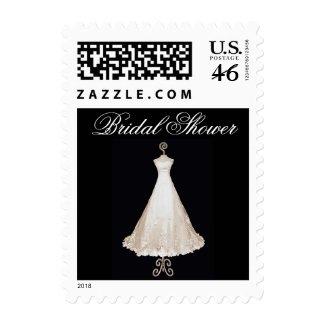 Bride's Dress Stamps stamp