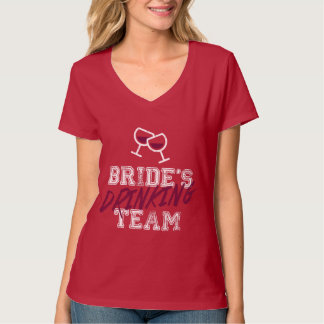 Bride's Drinking Team T-Shirt