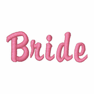 Brides Embroidered T-shirt