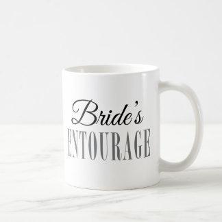 Bride's Entourage Coffee Mug