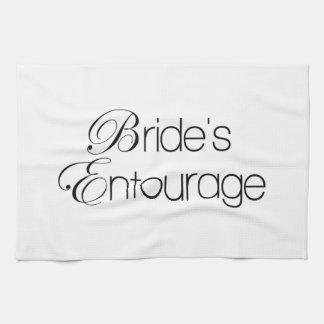 Bride's Entourage Hand Towels