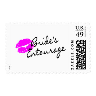 Brides Entourage (Kiss) Postage