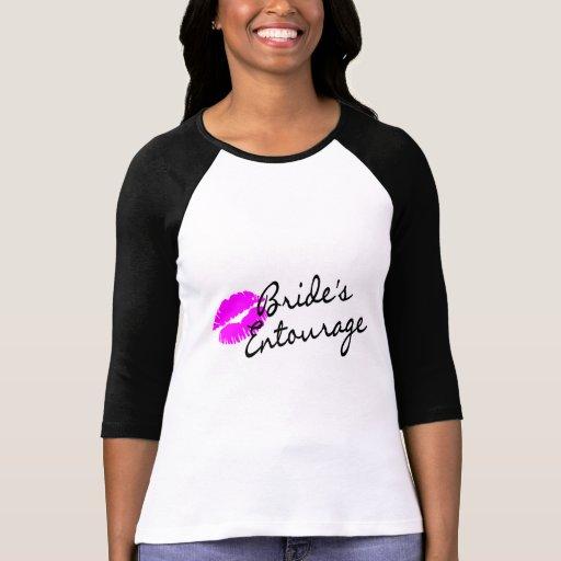 Brides Entourage (Kiss) T Shirt
