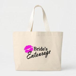 Brides Entourage Large Tote Bag