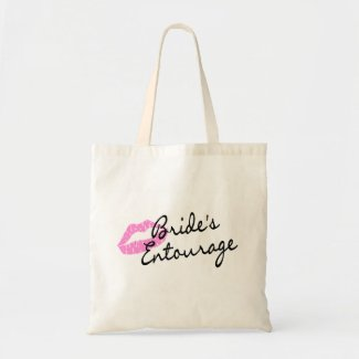 Brides Entourage Lips Tote Bag