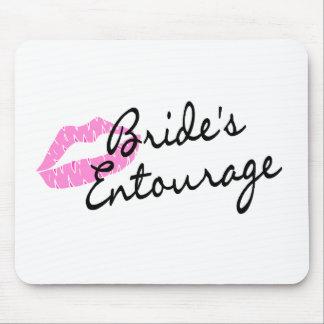 Brides Entourage Lips Mouse Pad