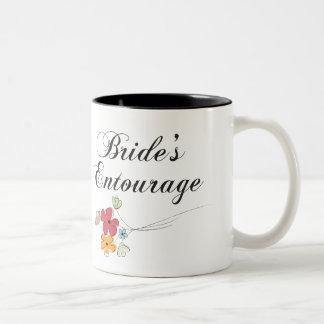 Bride's Entourage Two-Tone Coffee Mug