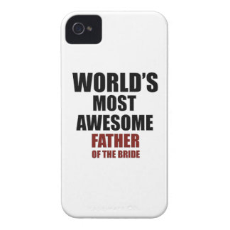 Bride's Father Design iPhone 4 Covers