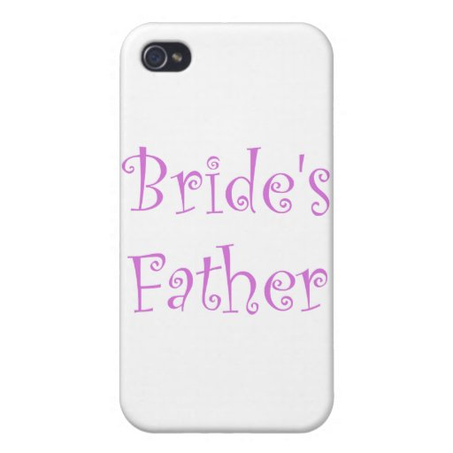 Bride's Father iPhone 4/4S Covers