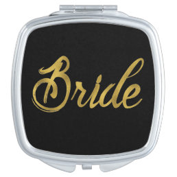 Brides Gold Faux Paint Vanity Mirror