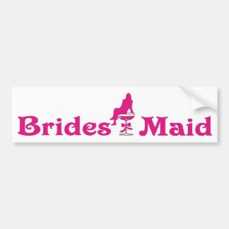 Brides Maid Bumper Sticker