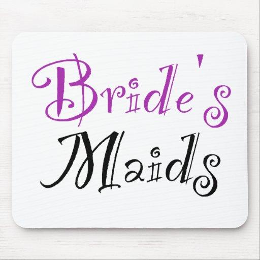 Bride's Maids Mouse Pad