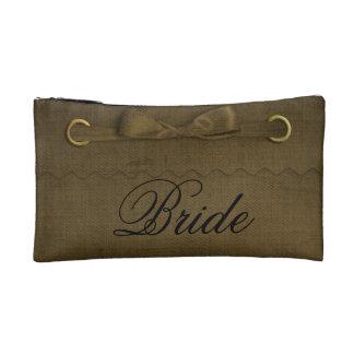 Bride's Make Up Bag Travel Accessory Bags