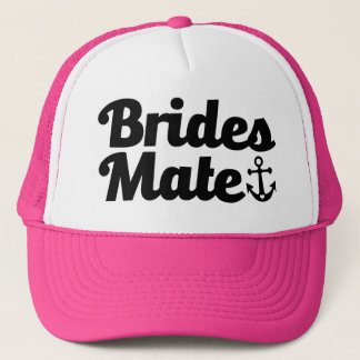 Brides Mate with Anchor Bridesmaid Hat