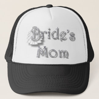 ♥ Bride's Mom ♥ Appropriate for Mom & Step-Mom ♥ Trucker Hat