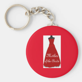 Brides Mom Key Ring Mother of the Bride Keychain