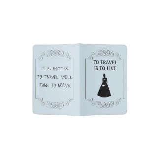 Bride's Passport Cover