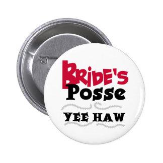 Bride's Posse Button