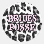 Brides Posse Sticker