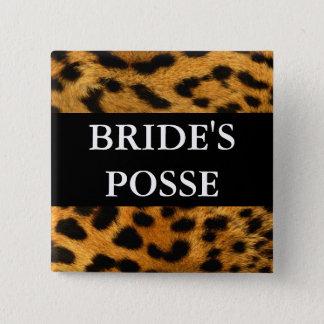 Brides Posse Wedding Button