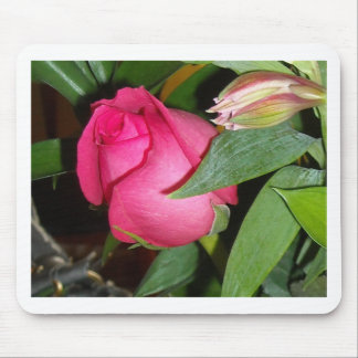 Bride's Rose Mouse Pad