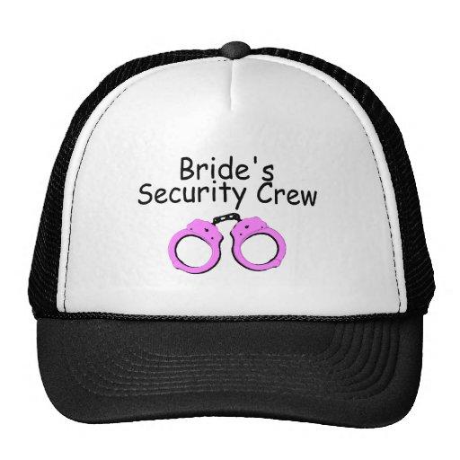 Brides Security Crew (Handcuffs) Hat
