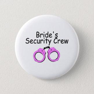 Brides Security Crew (Handcuffs) Pinback Button