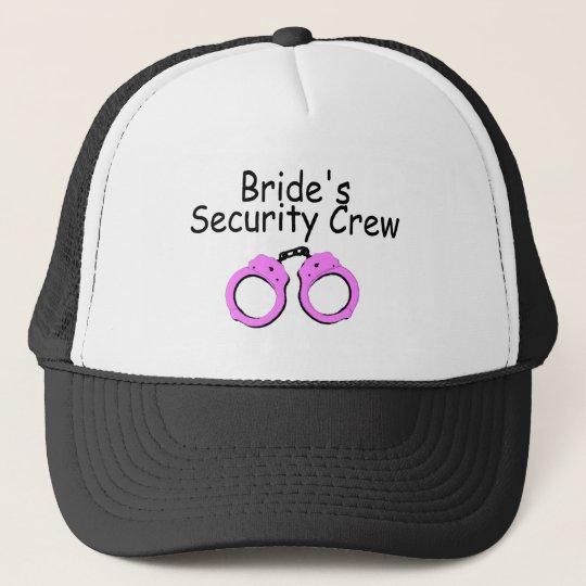 Brides Security Crew (Handcuffs) Trucker Hat