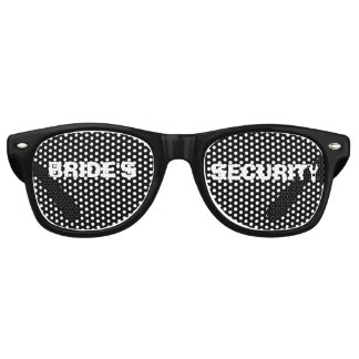 Bride's Security Party Eye Glasses Wayfarer Sunglasses