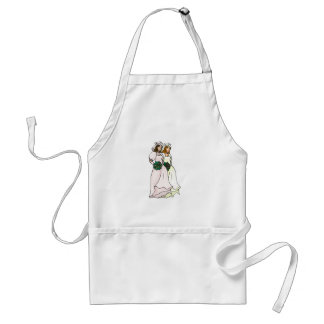 Brides Side by Side Adult Apron