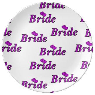 Brides Simply Love Porcelain Plate