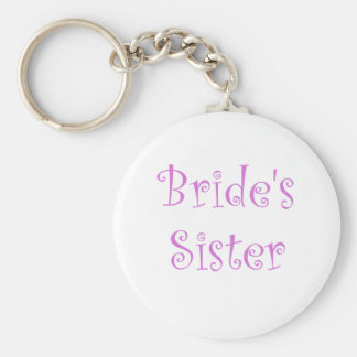 Bride's Sister Keychain