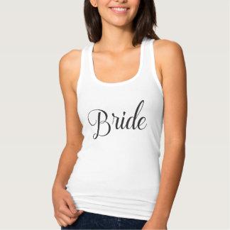 Bride's Squad Bride Matching Tank Top