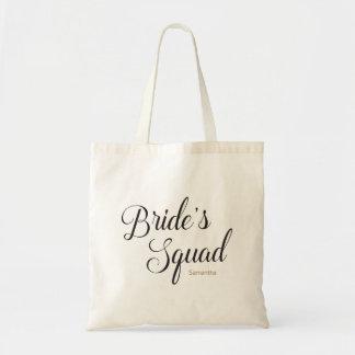 Bride's Squad Bridesmaid Bachelorette Tote