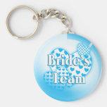 Brides Team Keychain