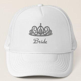 Bride's Tiara Trucker Hat