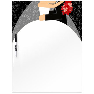 Bride's To-Do List Dry Erase Board - large
