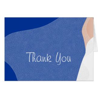 """Bride's veil """"Thank You"""" Card"""