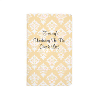 Bride's Wedding Check List Pocket Journal