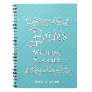 BRIDE'S WEDDING PLANNER NOTEBOOK -
