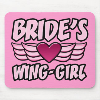 Bride's Wing-Girl Bachelorette Party Mouse Pad