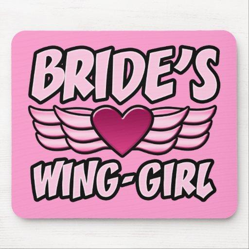 Bride's Wing-Girl Bachelorette Party Mouse Mats